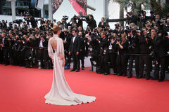 Cheryl Cole. Cheryl Fernandez-Versini attends the Premiere of 'Irrational Man' during the 68th annual Cannes Film Festival on May 15, 2015 in Cannes, France Stock Images