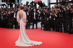 Cheryl Cole. Cheryl Fernandez-Versini attends the Premiere of 'Irrational Man' during the 68th annual Cannes Film Festival on May 15, 2015 in Cannes, France Royalty Free Stock Images