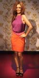 Cheryl Cole at Madame Tussaud's stock photo