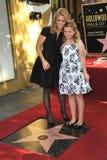 Cheryl Hines & Catherine potomstwa Zdjęcia Royalty Free