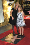 Cheryl Hines & Catherine Young Royalty-vrije Stock Foto's