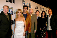 Cheryl Hines, Chris Parnell, Ray Romano, Werner Herzog, Zak Penn Royalty Free Stock Photos