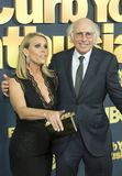 Cheryl Hines and Larry David Royalty Free Stock Images