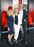 Cheryl Ladd, Brian Russell and Jordan Ladd Stock Photography