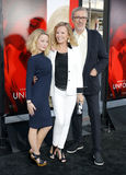 Cheryl Ladd, Brian Russell och Jordan Ladd Royaltyfri Fotografi