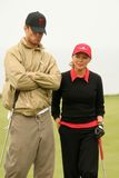 Cheryl Ladd,Josh Duhamel,Michael Douglas. Josh Duhamel and Cheryl Ladd at the 8th Annual Michael Douglas and Friends Presented by Lexus. Trump National Golf Club Stock Image