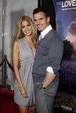 Cheryl Moana Marie και Antonio Sabato Jr Στοκ εικόνες με δικαίωμα ελεύθερης χρήσης