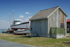 Chesapeake Bay Boat Builders Royalty Free Stock Photography