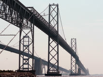 Chesapeake bay bridge Stock Image