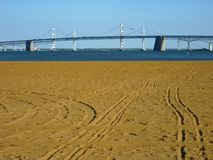 Chesapeake Bay Bridge-Maryland Stock Photos