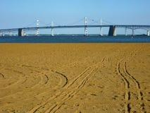 Chesapeake Bay Bridge-Maryland stock photos