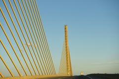Chesapeake delaware canal bridge Royalty Free Stock Photography