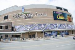 Chesapeake energy arena stock photo