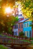 Chesapeake i Ohio parka narodowego Kanałowy DC zdjęcia stock