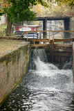 Chesapeake and Ohio Canal Lock in Washington DC Royalty Free Stock Photo