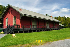 Chesapeake and Ohio Freight Depot, Clifton Forge,  Stock Photography