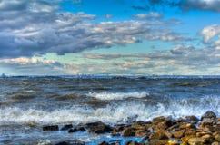 Chesapeake wiatry Fotografia Stock