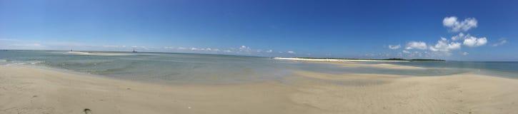 Chesapeake zatoki plaży panorama obraz royalty free
