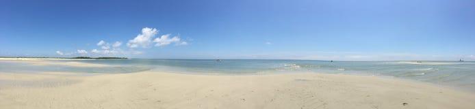 Chesapeake zatoki plaży panorama zdjęcia royalty free