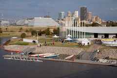 ChesapeakeBoathouse, Oklahoma CityRegatta Stockfotografie
