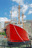 Chesapeakelieferung im Baltimore-inneren Hafen Stockbilder