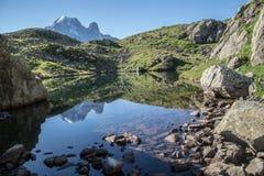 Cheserys, massiccio del Monte Bianco, Chamonix-Mont-Blanc, Savoia haute, Francia Immagine Stock