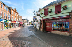 Chesham - grand-rue Photographie stock