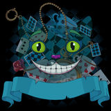 Cheshire Cat stock illustrationer