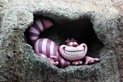 Cheshire Cat, Disneyland. Disneyland california america usa disneylandpark cheshire cat aliceinwonderland particular cartoon royalty free stock photo