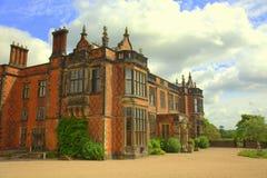 cheshire england home stately Royaltyfri Bild