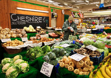 Cheshire farm market Royalty Free Stock Images