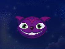 Cheshire-Katzenkopf lizenzfreie abbildung
