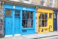 Cheshire Street-Shops Lizenzfreie Stockbilder