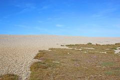 Chesil Bank, Dorset Stock Image