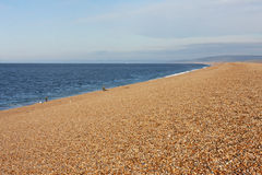 Chesil Bank Royalty Free Stock Photography