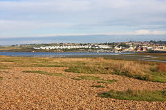Chesil Bank Royalty Free Stock Images