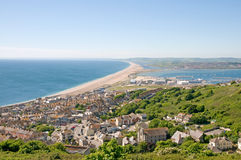 Chesil beach Stock Images