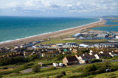 Chesil beach Dorset England Royalty Free Stock Photography