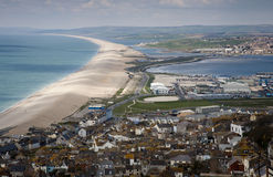 Chesil Beach, Dorset Stock Photo