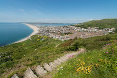 Chesil Beach Royalty Free Stock Images