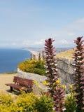 Chesil strand royaltyfria bilder