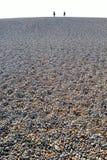 Chesil strand Arkivbild