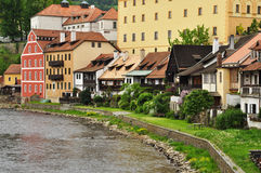 Chesky Krumlov town, Czech Republic Royalty Free Stock Photography