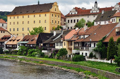Chesky Krumlov town, Czech Republic Royalty Free Stock Image