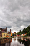 Chesky Krumlov town, Czech Republic Royalty Free Stock Photos