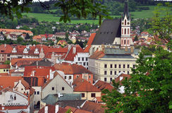 Chesky Krumlov town, Czech Republic Stock Photo
