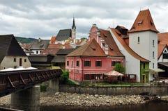 Chesky Krumlov town, Czech Republic Royalty Free Stock Photos