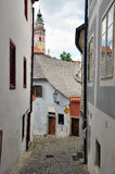 Chesky Krumlov town, Czech Republic Royalty Free Stock Photo