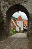 Chesky Krumlov town, Czech Republic Stock Images