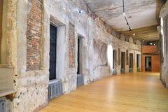 Chesma画廊的墙壁和天花板的恢复在Ga的 库存照片